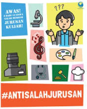 #AntiSalahJurusan book cover