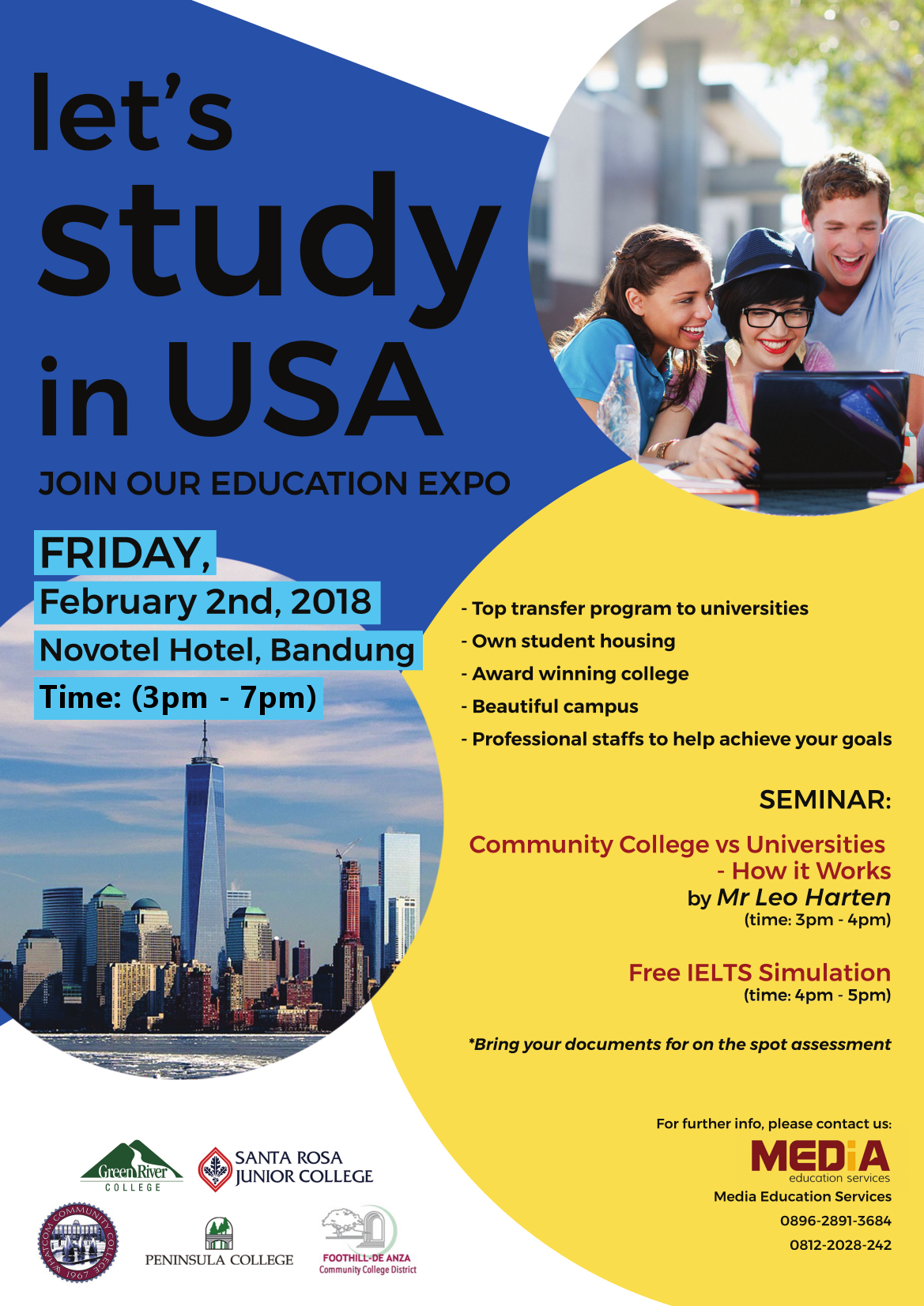 Let's study in USA!